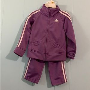 24 month Adidas track suit